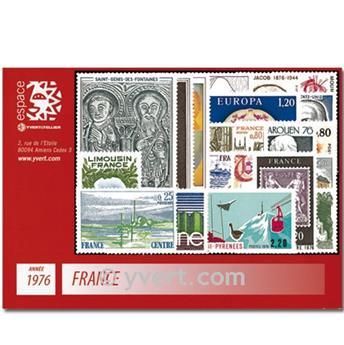n° 1863/1913  - Selo França Ano completo  (1976)