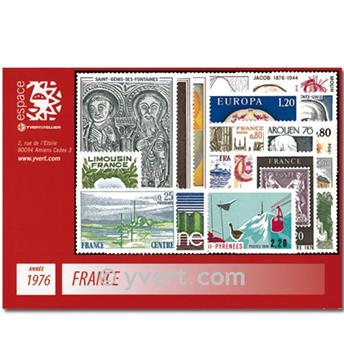 n° 1863/1913  - Stamp France Year set  (1976)