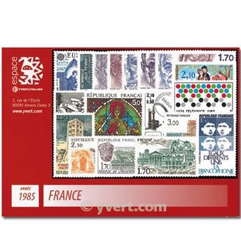 n° 2347/2392  - Selo França Ano completo  (1985)