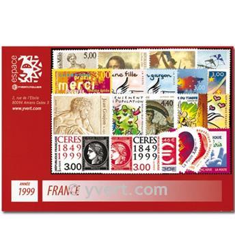 n° 3211/3293  - Timbre France Année complète  (1999)