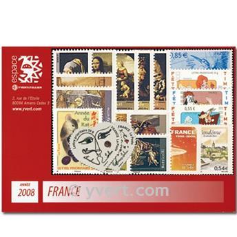 n° 4127/4323  - Timbre France Année complète  (2008)
