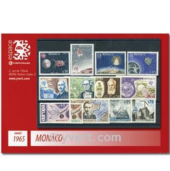 n° 664/676 -  Timbre Monaco Année complète (1965)