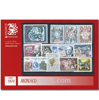 nr. 953/1002 -  Stamp Monaco Year set (1974)