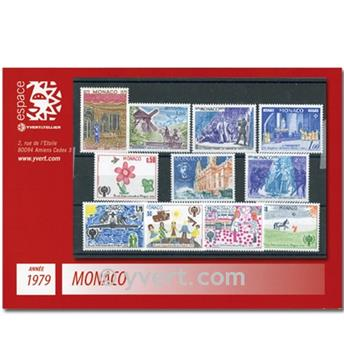 nr. 1175/1208 -  Stamp Monaco Year set (1979)