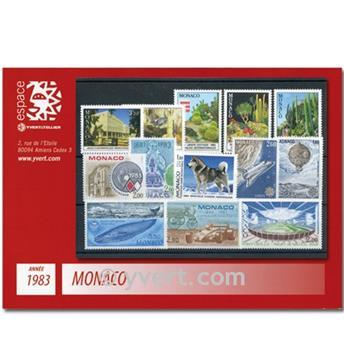 nr. 1359/1403 -  Stamp Monaco Year set (1983)