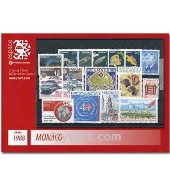 nr. 1614/1662 -  Stamp Monaco Year set (1988)