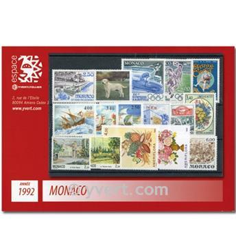nr. 1810/1853 -  Stamp Monaco Year set (1992)
