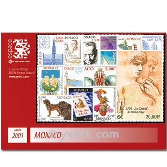 nr. 2295/2318 -  Stamp Monaco Year set (2001)