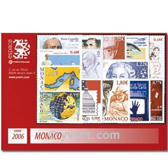 n° 2528/2587 -  Timbre Monaco Année complète (2006)