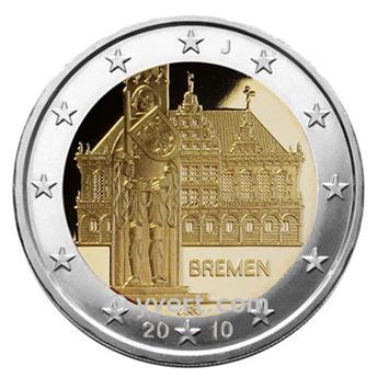 2 EURO COMMEMORATIVE 2010 : ALLEMAGNE (J)
