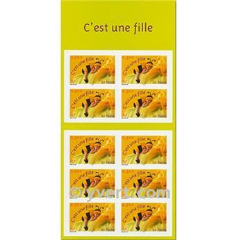 n° BC40 -  Selo França Autoadesivos