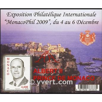 n.o 94 -  Sello Mónaco Bloque y hojitas