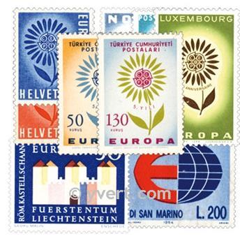 1964** - Ano completo novo EUROPA
