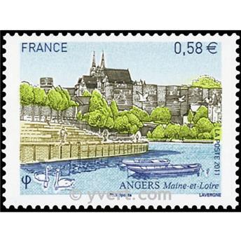 n.o 4543 -  Sello Francia Correos