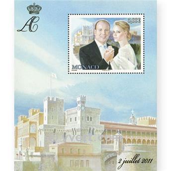 nr. 100 -  Stamp Monaco Souvenir sheets