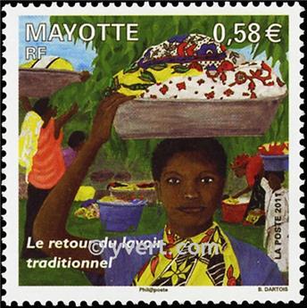 n.o 247 -  Sello Mayotte Correos