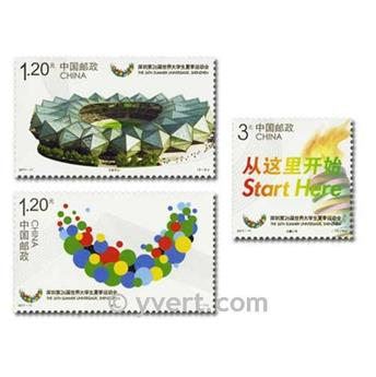 nr. 4812/4815 -  Stamp China Mail