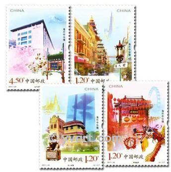 n° 4846/4849 -  Timbre Chine Poste