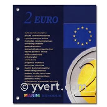 Inserts €2 commemorative coins - MARINI®