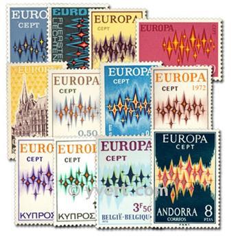 1972** - Année complète neuf EUROPA