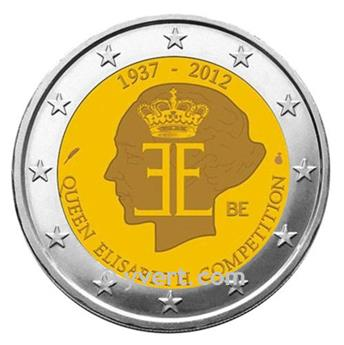 €2 COMMEMORATIVE COIN 2012 : BELGIUM
