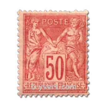 n° 98 obl. - Type Sage (Type II)