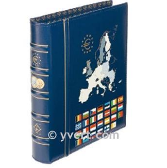 VISTA ÁLBUM EURO CLASSIC COM ARGOLAS