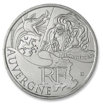 10 € DAS REGIÕES - Auvergne - 2012
