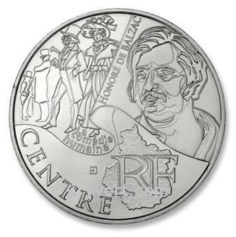 10€ DES REGIONS - Centre - 2012