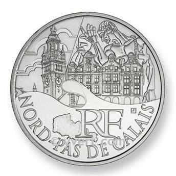 €10 DES REGIONS 2011 - Nord-Pas-de-Calais 2011