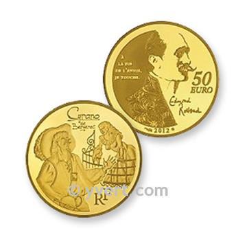 50 EUROS OURO - França - CYRANO DE BERGERAC