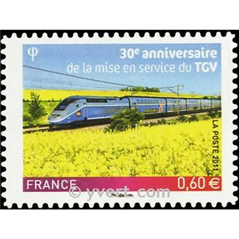 n° 603 -  Selo França Autoadesivos