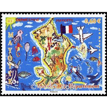 n.o 259 -  Sello Mayotte Correos