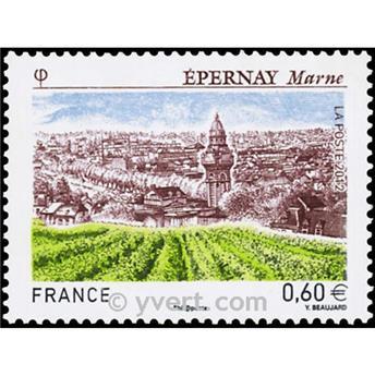 n.o 4645 -  Sello Francia Correos