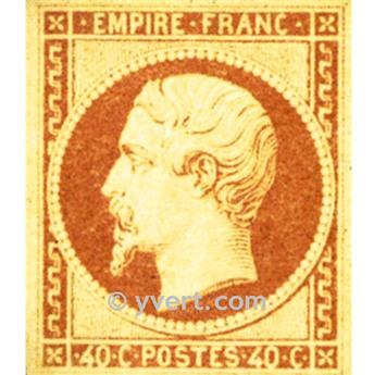 n° 16 obl. - Napoléon III (Empire Non dentelé)