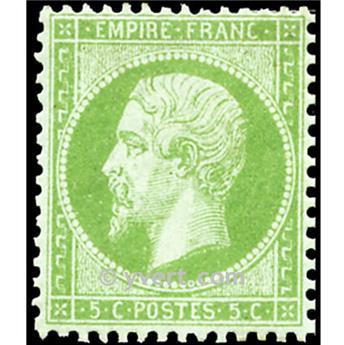 n° 20 obl. - Napoléon III (Empire non lauré)