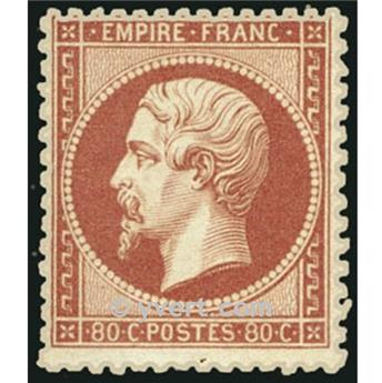 n.° 24 obl. -Napoleón III