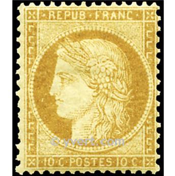 nr 36 obl. - Type de 1849. Cérès