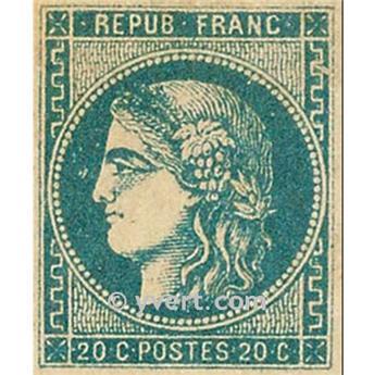 n° 46A obl. - Cérès (Émission de Bordeaux)