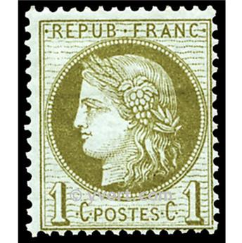 n° 50 obl. - Type Cérès dentelé (IIIe République)