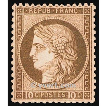 n° 54 obl. - Type Cérès dentelé (IIIe République)