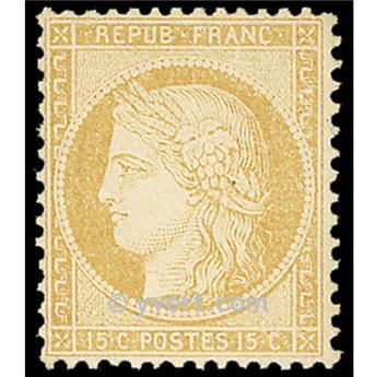 n° 59 obl. - Type Cérès dentelé (IIIe République)