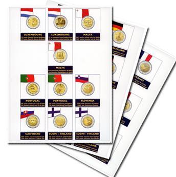Recharges 2 EUROS commémoratifs 2015 - MARINI®