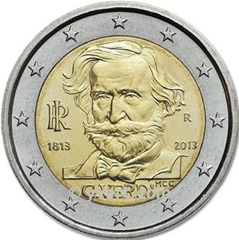 €2 COMMEMORATIVE COIN 2013 : ITALY