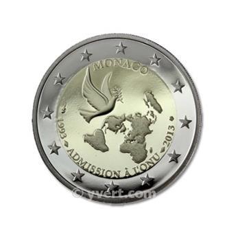 €2 COMMEMORATIVE COIN : MONACO 2013