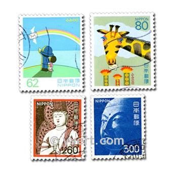 JAPON : pochette de 500 timbres