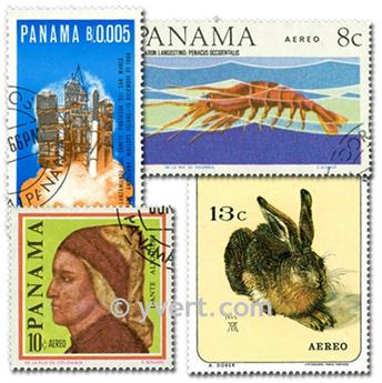 PANAMA : pochette de 100 timbres