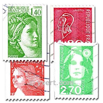 RF ROULETTES: envelope of 25 stamps
