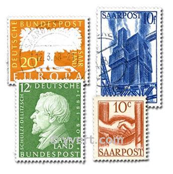 SARRE : lote de 100 selos