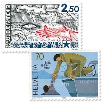 1985 - Émission commune-France-Suisse